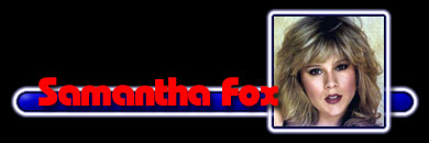 Информация о певице Samantha Fox
